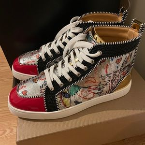 Christian Louboutin red bottoms